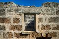 Old Brick Wall And Window Royalty Free Stock Photo