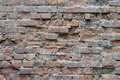 Old brick walls close up Stock Image