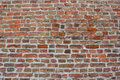 Old bricks wall with cement background background Stock Photos