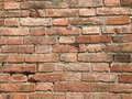 Old bricks wall full frame as background Royalty Free Stock Photo