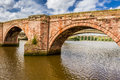 Old bridge in Berwick-upon-Tweed Royalty Free Stock Image