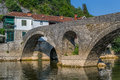 Old bridge of the Cernojevica river Royalty Free Stock Photo