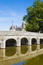 Old bridge from Chambord Chateau Stock Image