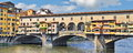 Old Bridge in Florence Italy Royalty Free Stock Photo