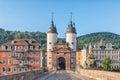 Old Bridge Gate in Heidelberg, Germany Royalty Free Stock Photo