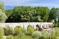 Old bridge near Tordomar Royalty Free Stock Photos