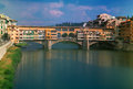 Old Bridge Ponte Vecchio, Florence, Italy Royalty Free Stock Photo