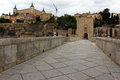 Old bridge, Toledo, Spain Stock Photos