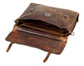 Old briefcase Royalty Free Stock Photo