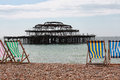 Old Brighton Pier Royalty Free Stock Photo