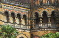 Old british architecture at victoria terminus ii a beautiful specimen of an in an indian city Royalty Free Stock Images