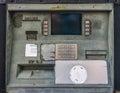 Old broken ATM Royalty Free Stock Photo