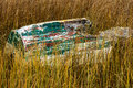 Old broken boat Royalty Free Stock Photo