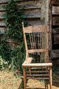 Old Broken Chair Royalty Free Stock Photo