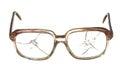 Old broken glasses. Royalty Free Stock Photo