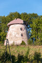 Old broken mill in masurian lakes district of northern poland Stock Image