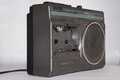 Old broken radio Royalty Free Stock Photo