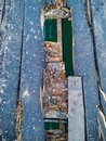 Old broken wooden floor that must be renovate Royalty Free Stock Photo