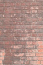 Old brown brick wall an weathered Royalty Free Stock Photography