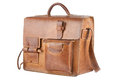 Old Brown Shoulder bag Royalty Free Stock Photo