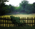 Old brown wooden fence background Royalty Free Stock Photos
