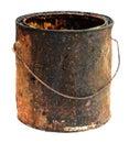 Old bucket Royalty Free Stock Photo