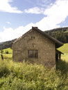 Old building - Alps Royalty Free Stock Photo