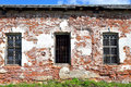 Old building in Kirillo-Belozersky monastery by day. Royalty Free Stock Photo