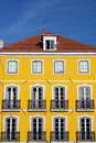 Old building lisbon portugal detail of an Stock Image