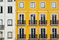 Old building lisbon portugal detail of an Royalty Free Stock Images