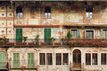 Old building in Verona Royalty Free Stock Image