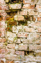 Old building wall bricks texture Royalty Free Stock Photo