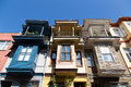 Old buildings in istanbul city Stock Photos