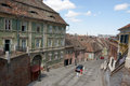 Old buildings in sibiu romania the historic center of Stock Image