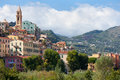 Old buildings of Ventimiglia Royalty Free Stock Image