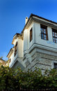 Old bulgarian houses in Melnik Royalty Free Stock Photos