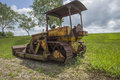 Old bulldozer, Royalty Free Stock Photo