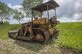 Old bulldozer, Royalty Free Stock Photo
