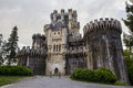 Old butron castle in northern spain near gatika Stock Photos