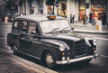 Old cab Royalty Free Stock Photo