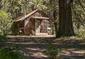 Old cabin in the forest Royalty Free Stock Photo