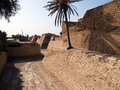 Old Caesarea Israel city walls Royalty Free Stock Photography