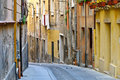 Old Cagliari Street Royalty Free Stock Photography