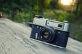 Old Camera In Nature