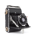 Old camera vintage isolated on white background Stock Image