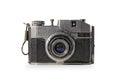 Old camera vintage on white bachground Stock Image