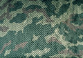 Old camouflage uniform cloth pattern