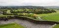 Old cannon defending Stirling Castle walls