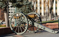Old cannon in Denver, Colorado Royalty Free Stock Photo