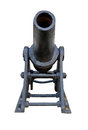 Old cannon little made in russia at the beginning of century Stock Photo